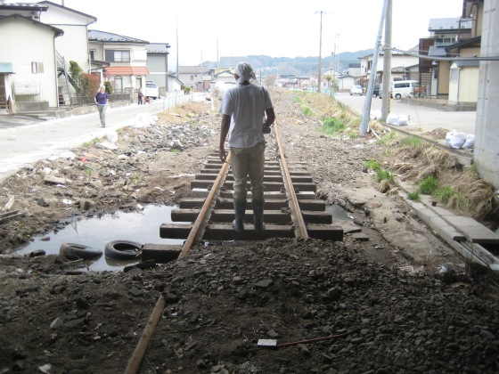 Volunteer Work in Iwate