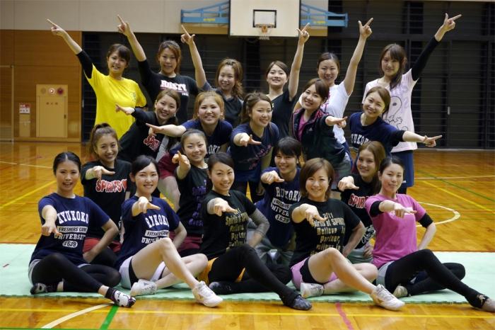 Spirits Baton Cheer Team